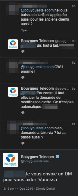 BouyguesTelecom Question Twitter